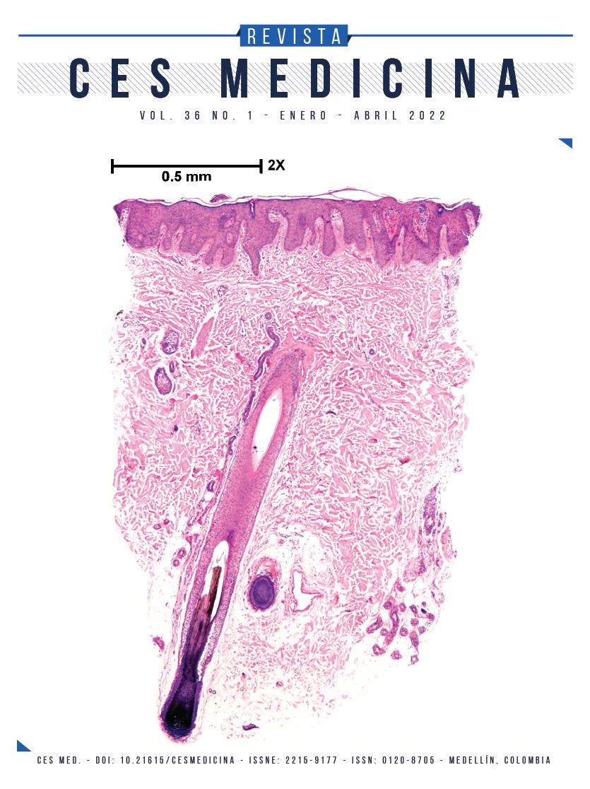 Portada Revista CES Medicina Vol 35(2)
