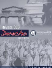 Portada Revista CES Derecho 12(1) 2021